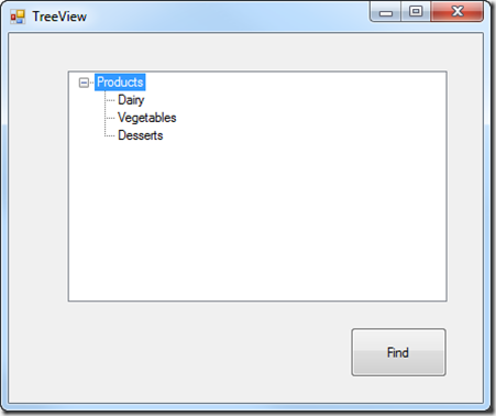 Find a TreeView Node Programmatically - Ged Mead's Blog