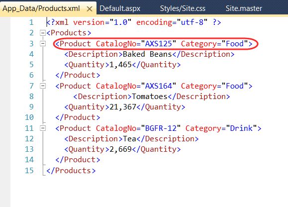 using xml as a data source for a datalist ged mead s blog vbcity