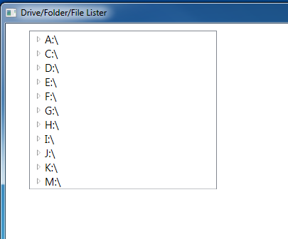 Display Folders and Files in TreeView and ListBox - Ged