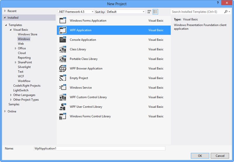 WPF: How to create a Page based project with navigation