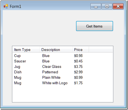 How to display text file content in a ListView - Ged Mead's