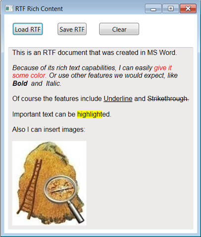 WPF RichTextBox: How To Load, Edit and Save Rich Text Format
