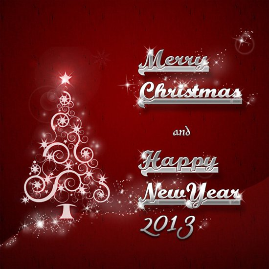 marry christmas and happy new year 2013