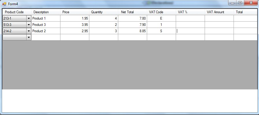 total vat amount